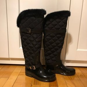 Michael Kors Fulton Quilted Winter Boots